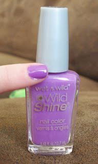 Hot Glue & Sparkle: Wet n Wild LE Pop Art Craze nail polish collection: review and swatches-- Who is Ultra-Violet