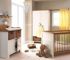 "Izziwotnot Vanilla Room Set + FREE 4"" Fully Ventilated Mattress: Amazon.co.uk: Baby"