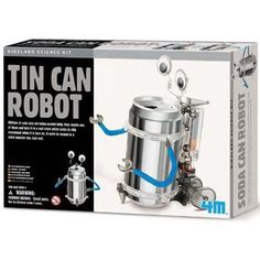 $16.99 - Recycle a soda can by turning it into a silly robot that can move.• All you need is a soda can and a little imagination! • This kit includes parts and instructions. • To construct this robot also requires a screwdriver and 2 AAA batteries (not included). • About 4M, the brand you have never heard of: • Quality: 4M regularly receives awards worldwide for both their science and craft products. • Safety: Enabling children to play and experiment safely is the most significa...