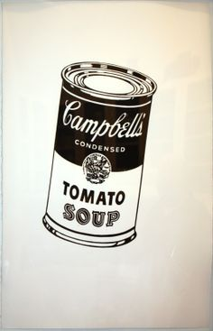 Andy Warhol : Campbell's Soup Can