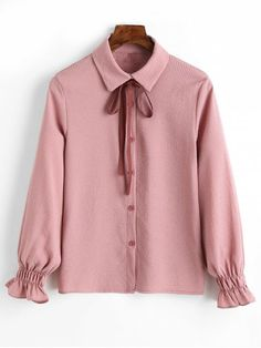 Up to 80% OFF! Cuff Sleeve Vertical Striped Shirt With Bowknot. #Zaful #Tops zaful,zaful outfits,spring outfits,spring break,summer dresses,Valentine's Day,Valentine's Day gift,valentines day ideas,valentines outfits,cute,casual,classy,women fashion,fashion,teen fashion,products,tops,blouse,embroidered blouse,shirts,striped shirts,T-shirt,tees,t shirts,teeshirts,tank tops,crop tops,shirts,clothes,tunic tops,summer tops,lace top,ladies shorts,elegant outfits @zaful Extra 10% OFF Code:ZF2017