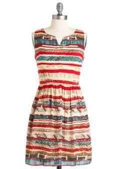 Pottery Exhibition Dress, #ModCloth  OYE!