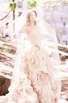 Sareh Nouri wedding dress (