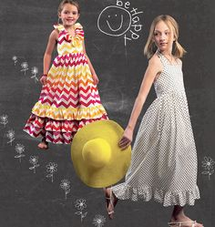 Children's/Girls' Dresses  McCalls 6736 - looks just like the expensive boutique one that is on the internet for $13.00 plus shipping!!