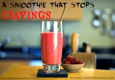 Eliminate your cravings for food, as well as your depression, anxiety, irritability, obsessiveness and mental dullness with this nutritious smoothie!
