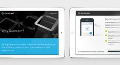 Qumram > Branding & Corporate Website, www.qumram.com