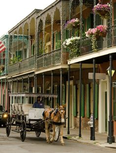 The French Quarter ~ New Orleans, Louisiana, USA