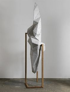 """bernardodias: """" [Toby Ziegler]'s paintings and sculptures engage with ideas of the exotic and synthetic. Fabricating his images and sculptural blueprints on a computer, traditional motifs such as landscapes, still lifes, and cultural artefacts are. Geometric Sculpture, Art Sculpture, Abstract Sculpture, Contemporary Sculpture, Contemporary Art, 3d Art, Modelos 3d, Art Graphique, Art Object"""