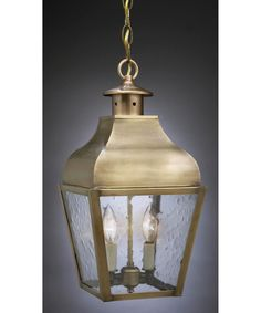 Northeast Lantern 7632-LT2 Stanfield 2 Light Outdoor Hanging Lantern  Finishes incl. copper