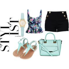 Untitled #28 by segura-yhouj on Polyvore featuring polyvore fashion style Boutique Moschino Topshop Kate Spade