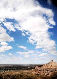 Badlands National Park in South Dakota -Beautiful!
