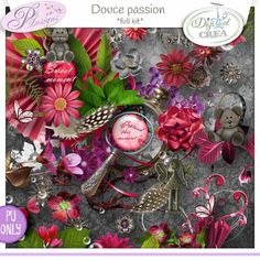kit Douce Passion by Pli Designs http://digital-crea.fr/shop/index.php?main_page=product_info&cPath=155_270&products_id=19530 http://scrapfromfrance.fr/shop/index.php?main_page=product_info&cPath=88_130&products_id=9232
