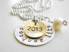 graduation necklace