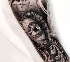Future Tattoos, Love Tattoos, Beautiful Tattoos, Tattoos For Guys, Tatoos, Pinky Tattoo, Arm Tattoo, Detailed Tattoo, Eye Art