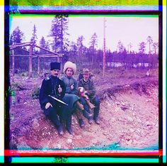 Crazy 100 year old color photo of pre-revolution Tsarist Russia by Sergei Mikhailovich Prokudin-Gorskii