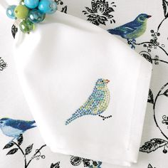 I pinned this Eden Blue Jay Napkin (Set of 6) from the Bodrum event at Joss and Main!