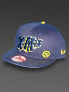 ebf388229d0 X-Men Comics Navy New Era 9Fifty Snapback Hat