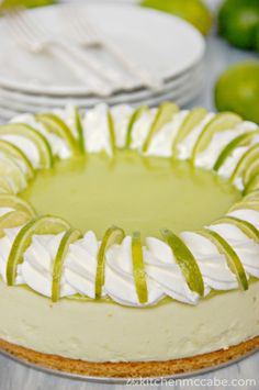 The Kitchen McCabe: Key Lime Mousse Pie