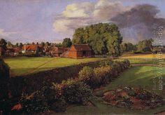 John Constable : Golding Constable's Flower Garden