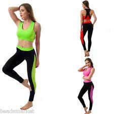 BM1 Set Tuta Donna Sport Completo Reggiseno&Pantaloni Palestra Sport Yoga…