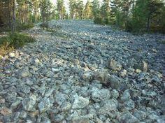 Susivuoren kivipelto Karijoki, South Ostrobothnia province of Western Finland. - Etelä-Pohjanmaa.