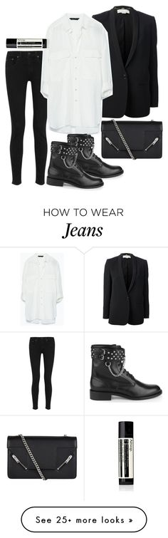 """Untitled #3183"" by bubbles-wardrobe on Polyvore featuring rag & bone, STELLA McCARTNEY, Zara, Yves Saint Laurent and Aesop"