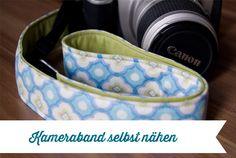 Anleitung Kameraband selbst nähen (> Snaply DIY Kameraband-Set http://www.snaply.de/DIY/DIY-Kameraband-Set--191.html)
