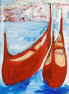 Imagining being back in Venice -floating memories
