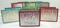 Stampin Up Christmas cards Dotty Angles from www.wippapercrafts.com