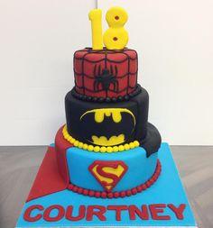 Mr Bun can design & make a perfect cake for your Superhero! :0) #SupermanReturns #Batman #spiderman #BatmanvSuperman