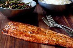Miso Mustard Roasted Salmon