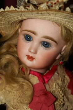 "Great New Price! Precious Rare 9.5"" Tiny and Perfect Bebe Louvre Jumeau"