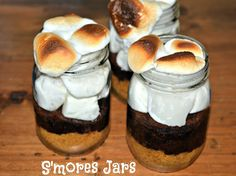 Hugs & CookiesXOXO: SMORES IN A JAR-PURE BLISS