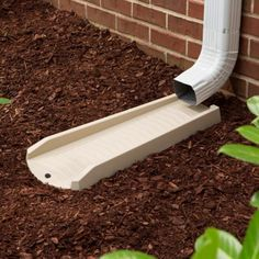 PROTECTS YOUR HOME - Prevents rainwater from seeping into you home's foundation by dispersing water at the bottom of the downspout Decorative Downspouts, Gutter Drainage, Landscape Drainage, Protecting Your Home, Water Damage, Foundation, Foundation Series