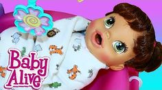 Baby Alive Goes CRAZY & Won't Go To Sleep in the New Nursery Crib Furniture Set DisneyCarToys - YouTube