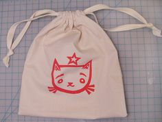 Canvas Bag - making these for Lewis' party bags