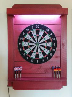 Dartboard Ideas, Dart Board, Bar Areas, Basement Ideas, Cool Stuff, Table, Summer, House, Darts