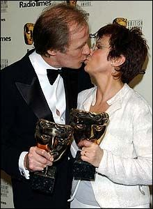 Bill Nighy and Julie Walters Bill Nighy, Julie Walters, Harry Potter Actors, The Libertines, My Father, British, Hollywood, Actresses, People
