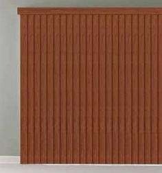 Bali Vinyl Vertical Blinds: Premium Faux Wood by Bali. $77.00. The Bali Premium Faux Wood Vertical Blind collection features a wide array of realistic stain colors that not only coordinates with interior trim and popular furniture colors, but also with Bali's horizontal faux wood blinds.