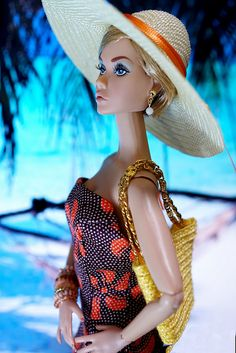 #PoppyParker #Doll poppy in the luxury resort of beaches