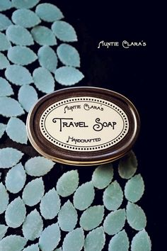 Travel Soap Handcrafted Soap Pastilles by Auntie Clara's