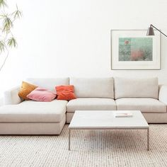 New for spring, the Cello Sofa is EQ3's latest upholstery introduction. Cello's elegant curved lines and sophisticated shape was inspired by the instrument itself.