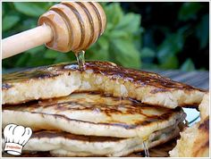ΥΠΕΡΟΧΑ PANCAKES!!! | Νόστιμες Συνταγές της Γωγώς Cooking Time, Sweet Recipes, Pancakes, Food Porn, Pork, Sweets, Sugar, Meat, Breakfast