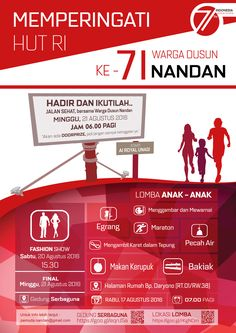 Poster HUT RI 71