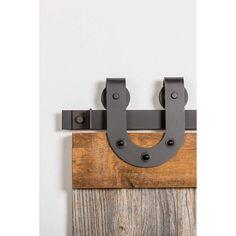 Barn Door Hardware | Double barn door hardware - Rustic Rolling Doors Rustic Hardware, Barn Door Hardware, Door Hinges, Barn Door Track, Nuts And Washers, Double Barn Doors, Door Kits, Single Doors, Interior Barn Doors