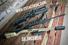 www.cstactical.com out shooting Silencerco suppressors!  Silencerco Suppressors from back to front Omega 30cal, Sparrow 22LR, Salvo 12, and Osprey 45.  #Silencercosuppressors #Silencerco #suppressors #Silencercoomega #Silencercosparrow #Silencercosalvo #Silencercoosprey #nightforce #nightforceoptics #Remington #remingtonarms #leupoldoptics #firearms #firearmphotos #cstactical #firearmsphotography