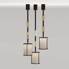 Bring sophistication and elegance to any room with this beautiful show-stopping pendant. The brushed brass and black bronze add a beautiful contrast to this piece. Available in three sizes.http://www.openplanliving.net/products/lighting/lamps/chain-pendant