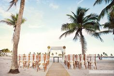 Beautiful Beach Wedding!! Yes that is what I want June 27th, 2015!! It just seems like it's gonna take forever to get here :(