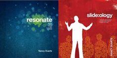 resonate and slide:ology, by Nancy Duarte