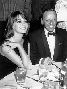 Natalie Wood with Frank Sinatra